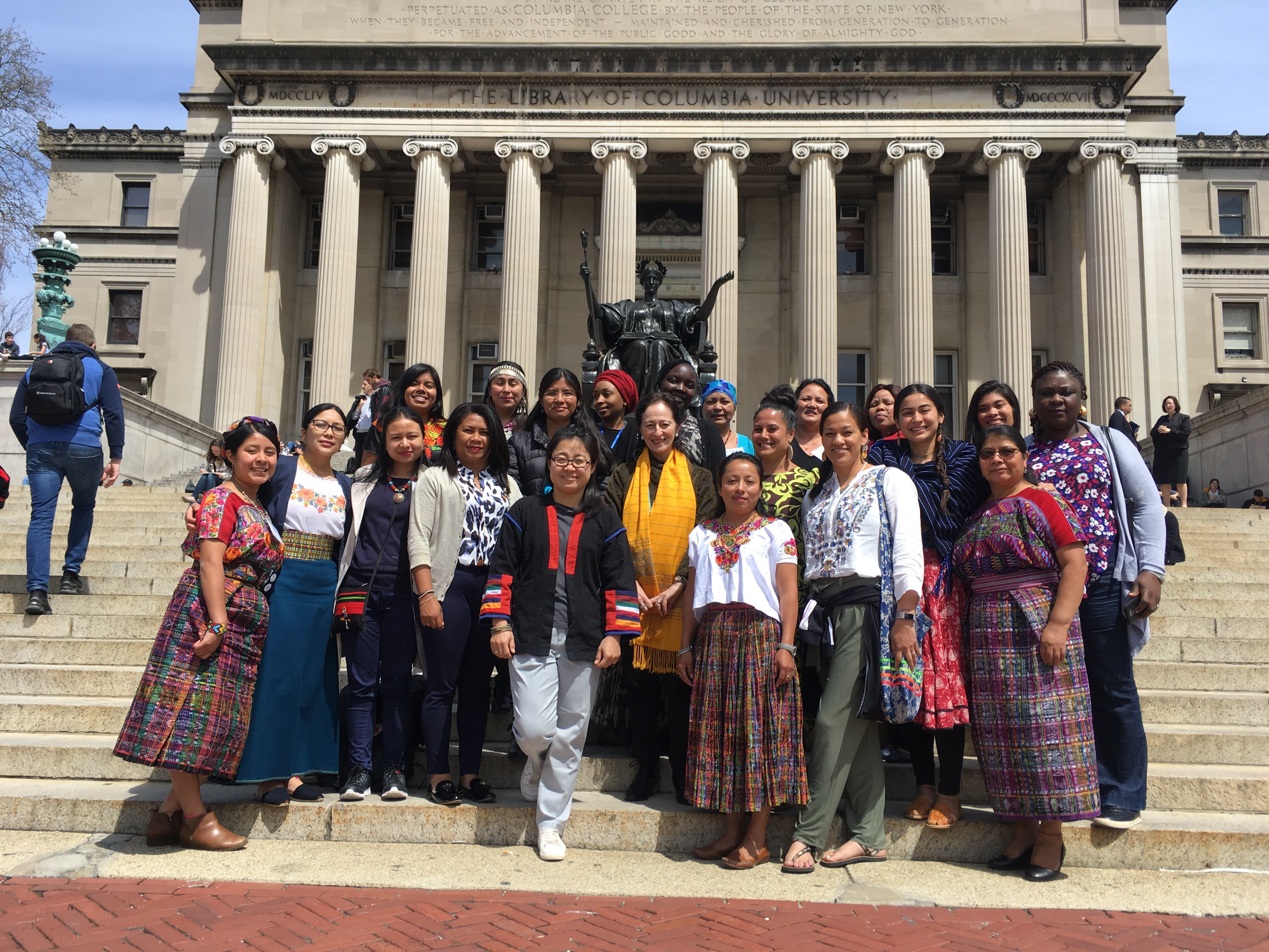 Indigenous Women Leaders At Columbia A Seminar Series Institute For The Study Of Human Rights