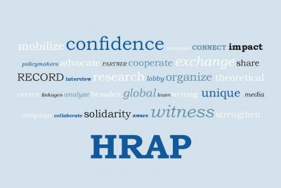 HRAP Word Cloud