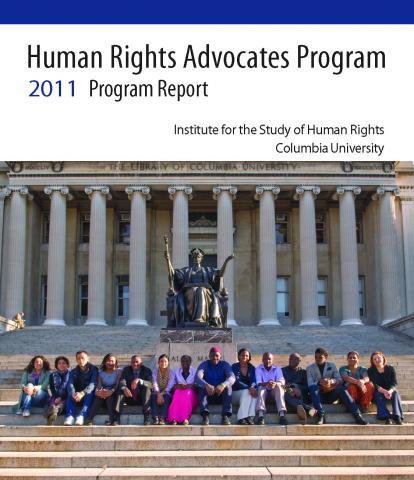 HRAP Program Report 2011