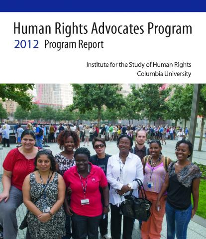 HRAP 2012 Program Report