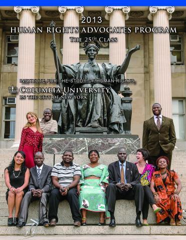 HRAP 2013 Program Report