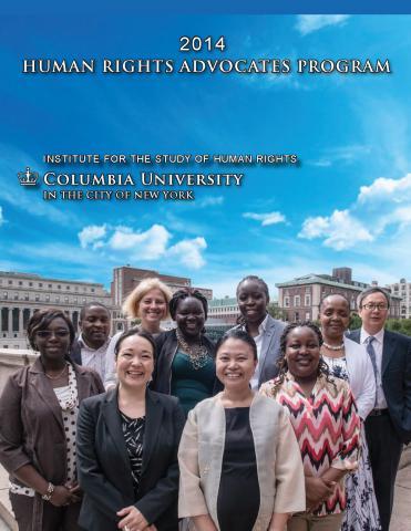 HRAP 2014 Program Report
